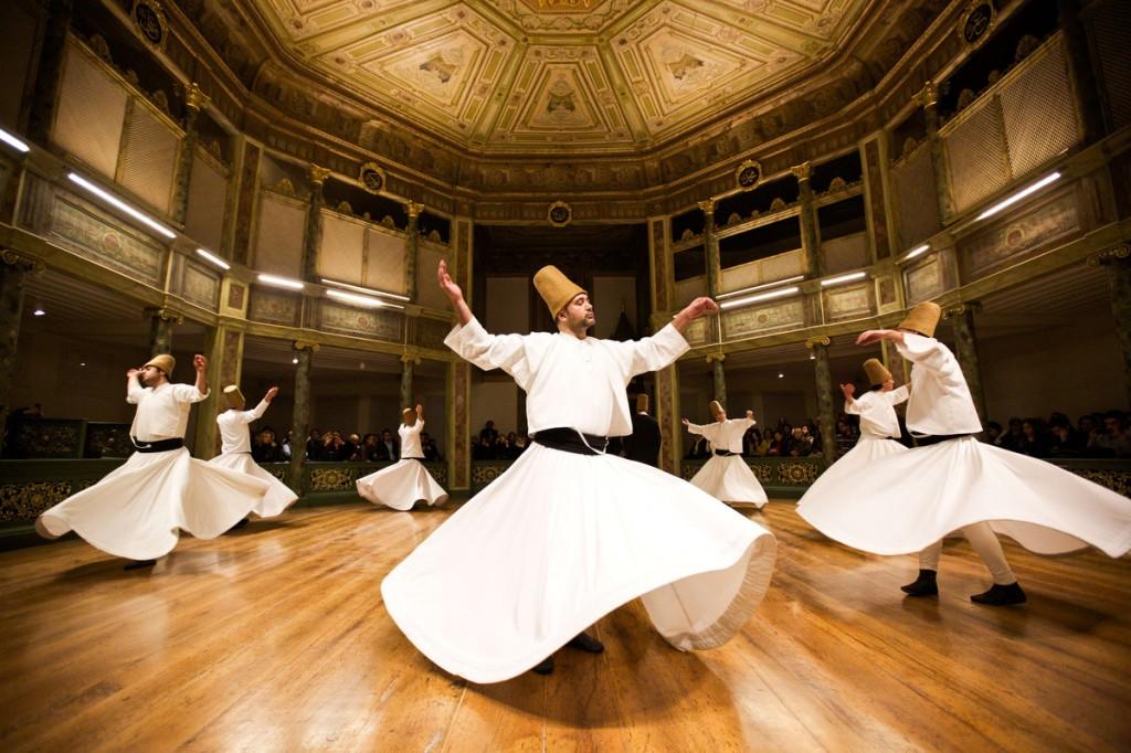 Derviches tourneurs à Istanbul