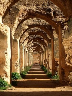 Grenier à blé à Meknès