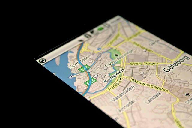 smartphone en voyage
