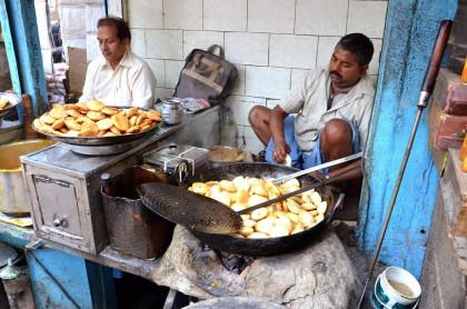 Street food en Inde