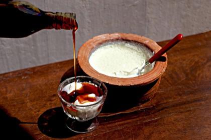 Curd, dessert sri lankais