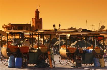 Jemaa el Fna à Marrakech