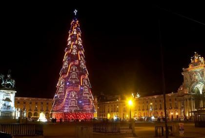 Lisbonne à Noël