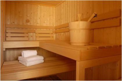 Sauna & ski