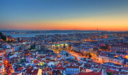 Mirador à Lisbonne