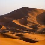 Panorama sur les dunes de Merzouga