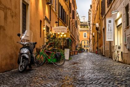 Ruelle du centre historique de Rome