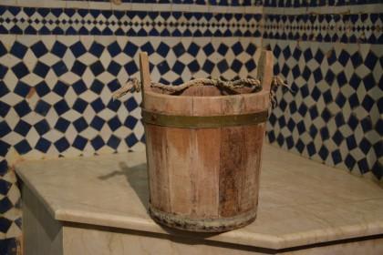Salle de bain au riad Adarissa