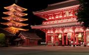 Temple à Asakusa à Tokyo