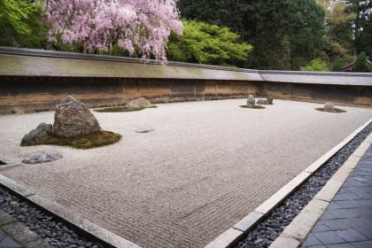 Jardin zen à Kyoto