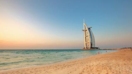 Plage à Dubai