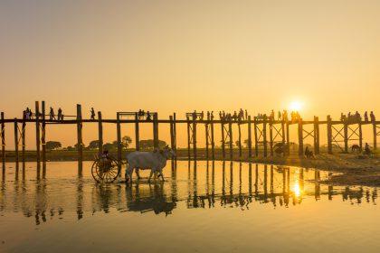 Pont U Bein près de Mandalay