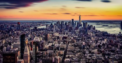 Panorama sur New York